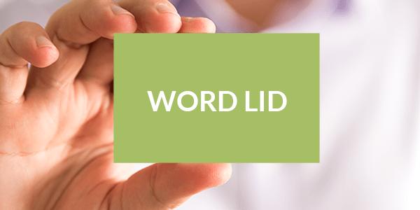 Word lid